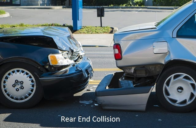 rear end collision