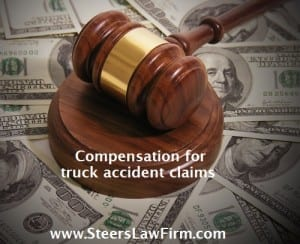 compensation for truck claims