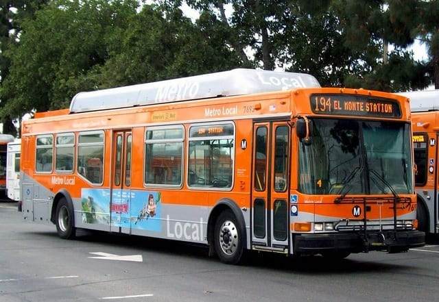 LA Metro Bus Accident in Bell, CA
