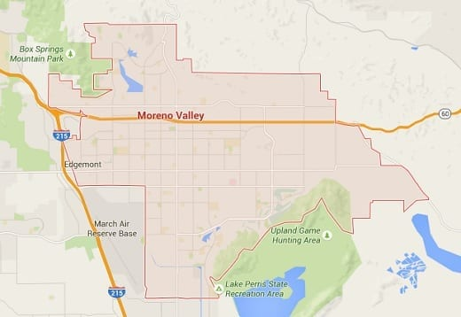 Moreno Valley Car Accident