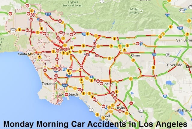 La Freeway Traffic Map.Los Angeles Traffic Map Www Naturalrugs Store