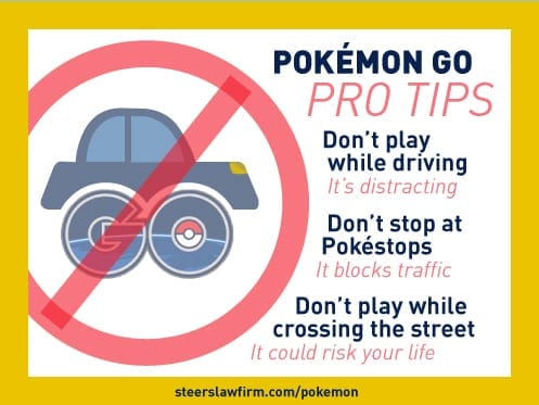 dont pokemon go and drive