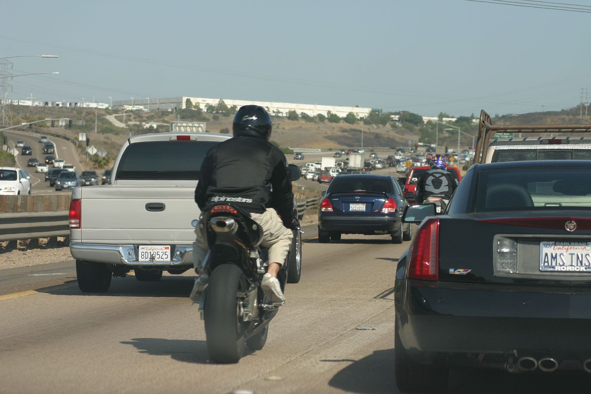 , Los Angeles Lane Splitting Motorcycle Accidents and Injuries, The Law Offices of Steers & Associates