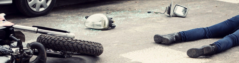 motorcycle crash image