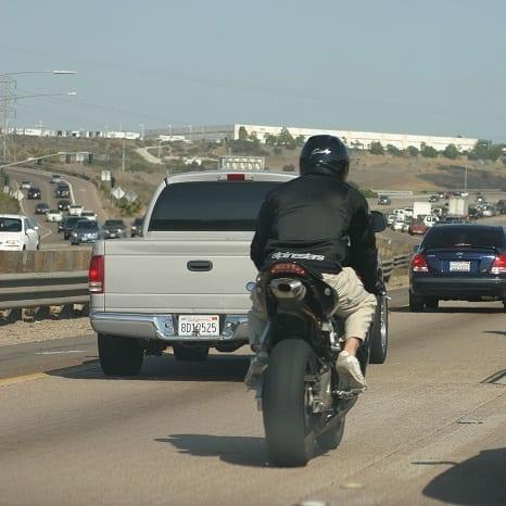 Motorcycle Lane Splitting in Los Angeles