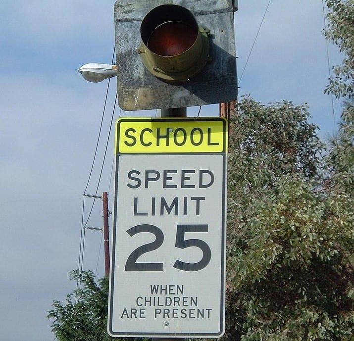 Los Angeles School Zone Speeding Accidents