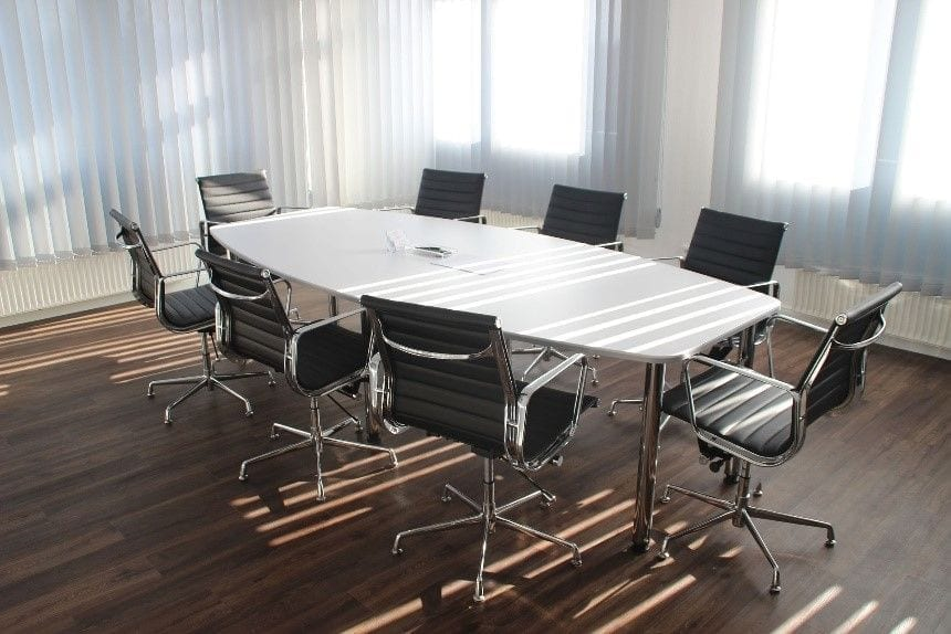 Meeting room for personal injury attorneys