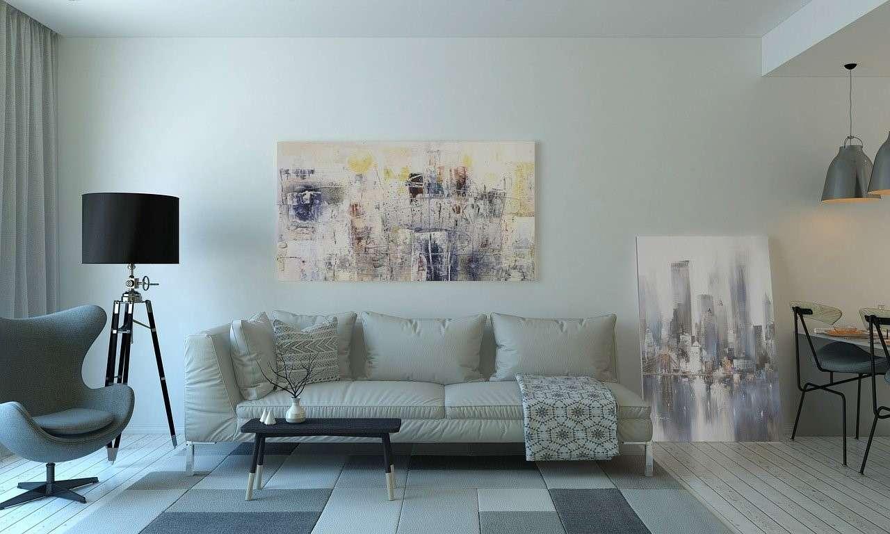 Interior of condo property
